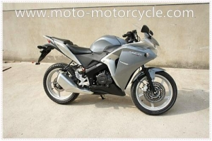 China Red White Air-cooled Honda CBR150 Two Wheel Drag Racing Motorcycles For Men on sale