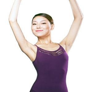 China Camisole Leotard With Hand-knitted Front on sale