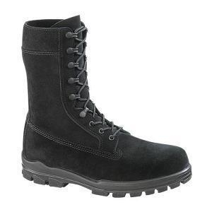 """China Bates 1778 Women's 9"""" Black Suede Navy Boot with Durashocks Outsole on sale"""