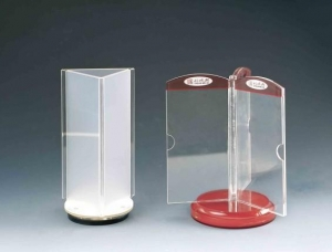 China Acrylic Table Tent lear Acrylic Sign Holder , Acrylic Table Tent Holders For Shop on sale