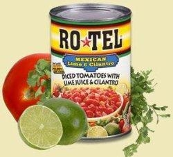 China Gourmet Food Home Ro*tel Mexican Diced Tomatoes with Lime & Cilantro - 10 oz can on sale