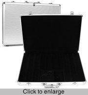 China Poker Cases Aluminum Briefcase Poker 680-Chip Case on sale