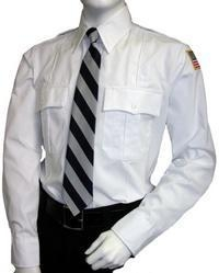 China Security Shirt - Poly-Cotton - Long sleeve on sale