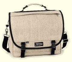 China Hemp Messenger Bag - The Courier Briefcase on sale