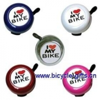 China Products I Love My Baby bell, metal bike bell, logo bike bell on sale