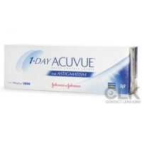 Acuvue 1-Day Acuvue Moist for Astigmatism 30 Pack