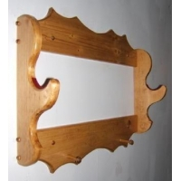 Tiplop One Bow Rack Archery made of Pine
