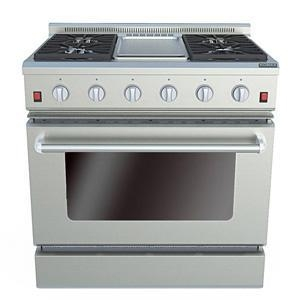 China 36 Inches Gas Oven with Griddle Item No.:IR36A2 on sale