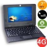 China 7inch VIA8850 Android mini laptop on sale