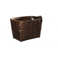 China semi-round wood chip bike basket Article No.BB1030 on sale