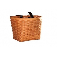 China semi-round wood chip bike basket Article No.BB1031 on sale
