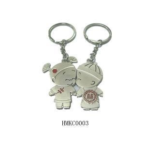 China lovely baby lovers key chain on sale