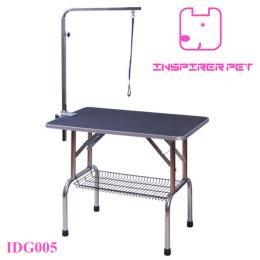 China Stainless Steel Dog Pet Grooming Table With Adjustable Arm Basket on sale