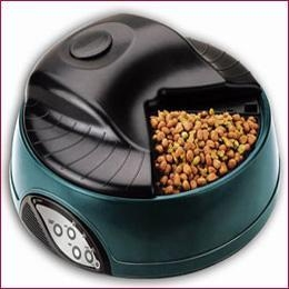 China 4 meal Pet Feeder For Dog Cat Bowl Auto Programmable on sale