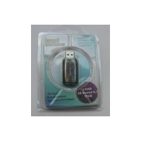China USB 2.0 External Lead 3D Virtual Audio Sound Card 5.1-Surround Adapter for PC on sale