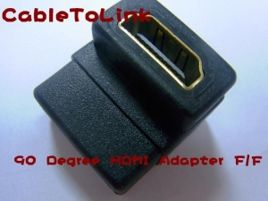 Quality New HDMI Female to Female F/F Coupler Adapter Changer Connector For HDTV DVD for sale
