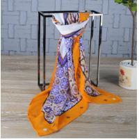 China Custom Silk Scarf Customized Silk Shawl Supplier China on sale