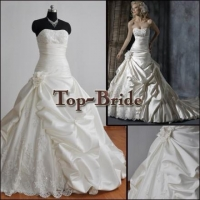 China 2012 Real Pictures Wedding Gowns/Dress Custom Made MAG010 Professional OEM Factory on sale