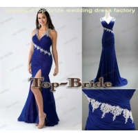 China BED-9 Dark Blue Elegant Ladies Fashion Maxi Women Sexy Dresses on sale