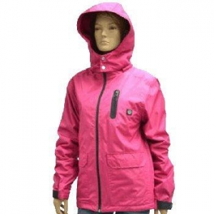 China 12V HEATED JACKET with take-off Hood LED button Temperature controllor on sale