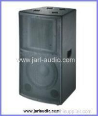 China pro audio equipment paint wooden speaker and high power wooden speaker on sale