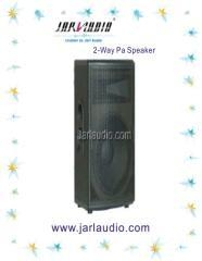 China 2-Way PA Speaker with passive filter crossover on sale