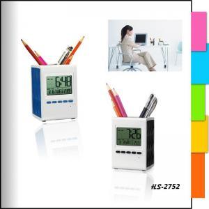 China pen holder clocks HS-2752 on sale