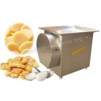 China Garlic/Ginger Slicing Machine Application on sale