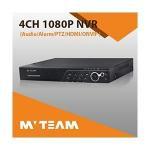 Best Seller 4ch Full 1080P NVR Support Alarm MVT-N6504