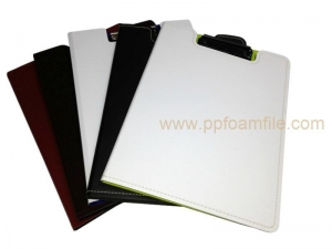 China Upright A4 double clipboard with stitching on sale