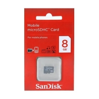 Sandisk Micro SD Card 8GB-Packing