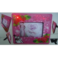 wedding gift LED roses photo picture frame on sale