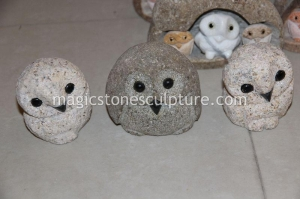 China granite owls on sale