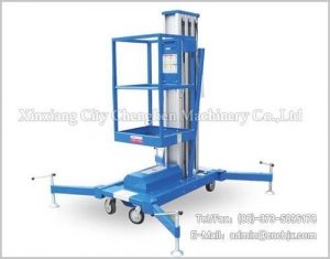 China Aerial Lift Platform Aluminum Alloy Lift on sale