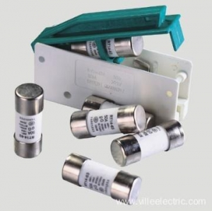 China Powder-filled cartridge cylindrical cap fuse on sale