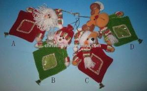 China Plush Christmas bag ,christmas candy bag,plush christmas gift bag on sale