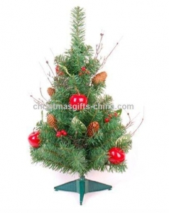 China Christmas Table Tree with Decoration on sale