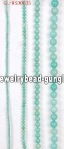 China DIY gemstone bead with dyed color sales promotion on sale