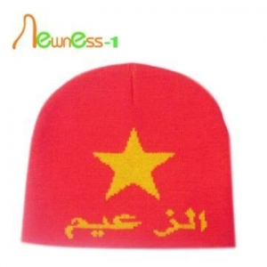 China Winter Custom Sports Beanies Hat on sale