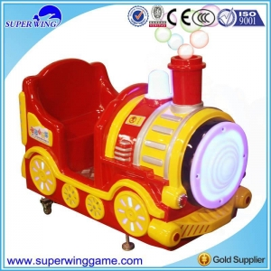 China bubbles train kiddy ride on sale