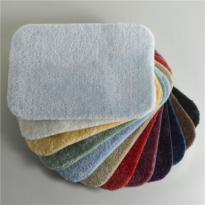 China Coral velvet bath mat on sale