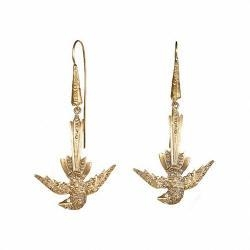 China Fashion gold earrings 2012 new design for women on sale
