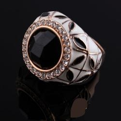 China Black Similar Big Diamond Rings For Means Xld-567 on sale