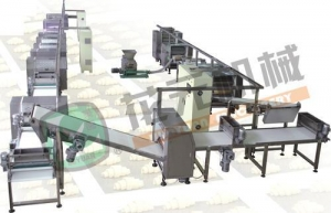 China HYSMX-600 Type Crisp Bread Line on sale