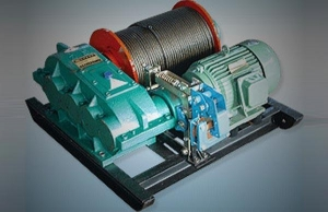 China JM Model Slow Speed small ton winch on sale