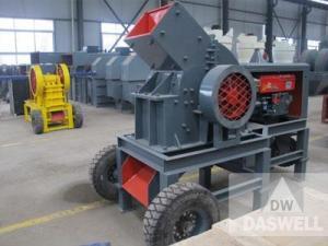 China Standard Diesel Engine Hammer Crusher on sale