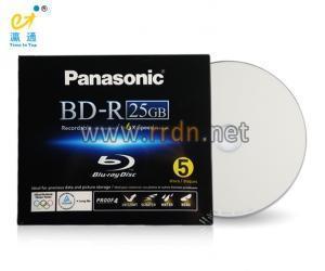 China Panasonic 25GB 1-6X BD-R Blue ray Disc LM-BR25MWE5 on sale