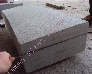 China G654 Grey Granite Curbstone GCPG840 on sale