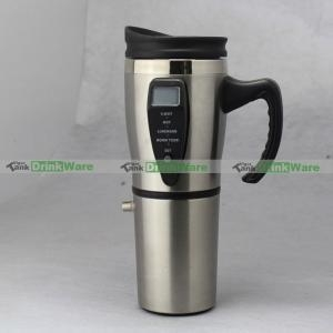 China 12v Electric Heated Car/Auto Coffee Mug VTM-ESS-0190 on sale