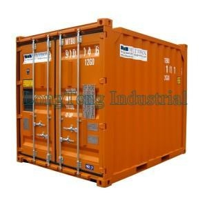 China 10ft dry offshore container on sale